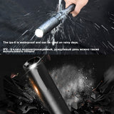 Self Defense Baseball Bat LED Flashlight waterproof Super Bright Baton aluminium alloy Torch for Emergency and Self Defense