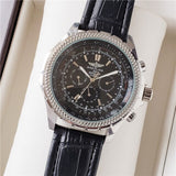 Breitling- high-end brand men's mechanical wrist watch men's watch stainless steel band classic fashion watch 19