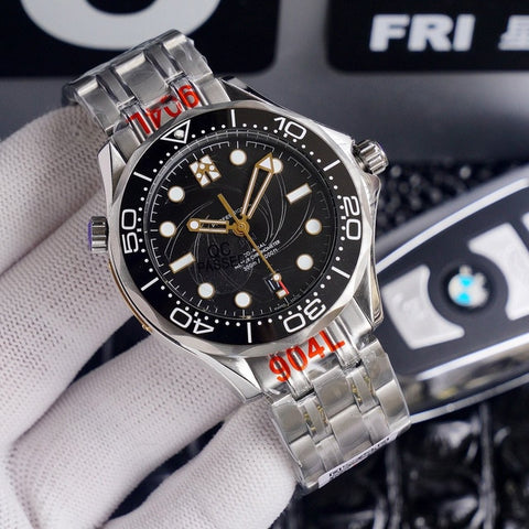 007 James Bond OMG New Arrivals AAA automatic mechanical men watch mens watches top brand luxury wristwatch gifts clock Reloj