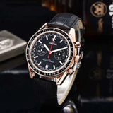 Omega- Luxury Brand Ceramic Bezel Mens and wom Mechanical Automatic Movement 007Watch Designer Watches Wrist watches 1957