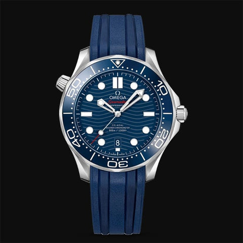 Omega- Luxury Brand Ceramic Bezel Mens AAA Mechanical SS 007 Automatic Movement Men Watch Designer Watches Wristwatches 33 Order