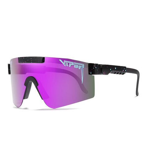 Pit Viper PV01-c4 Colorful tr90 frame purplek mirrored lens Windproof Sport Polarized Sunglasses for men/women 2020 New