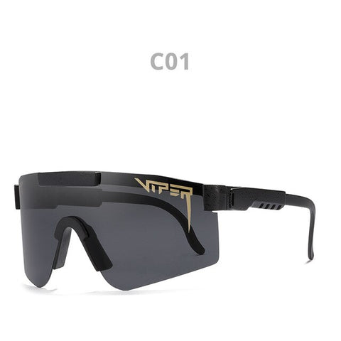 Original Brand Pit Viper Polarized Sunglasses Men Women Oversized Fashion Sport Shades UV400 Windproof Driving Shades With Box