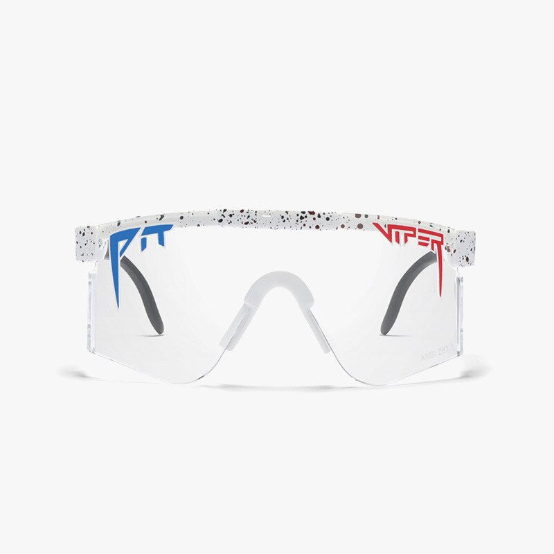 Pit viper Sunglasses The Originals mirrored eyewear tr90 frame UV400 protection Z87+ Lens Safety Oversize Goggles with case