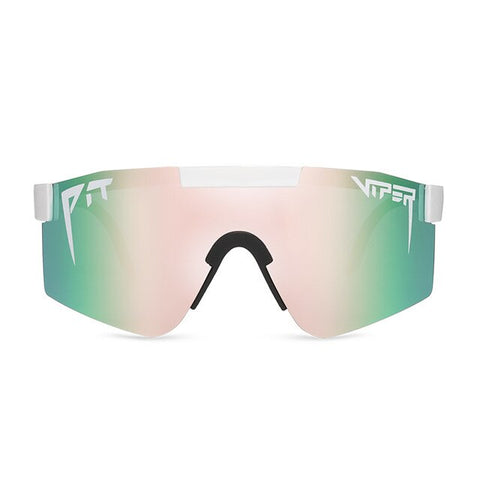 Pit Viper Windproof Sport Polarized Sunglasses for men/women tr90 frame Pink mirrored lens original brand case PV01-c3