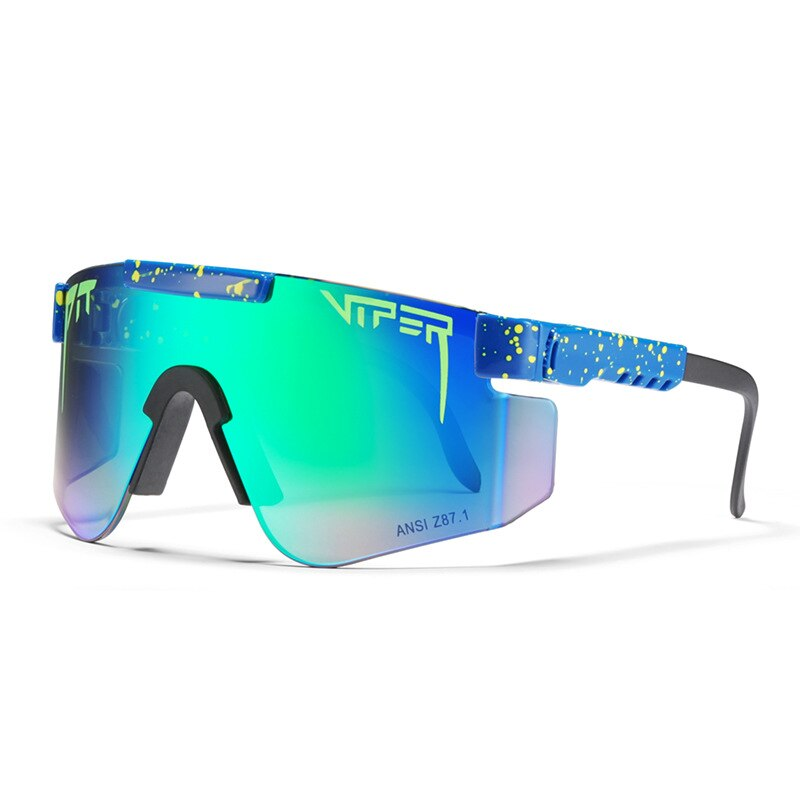 Pit Viper Upscale Polarized Sunglasses Men Women Brand Large Size TR90 Frame Polaroid Mirror Lenses Open Air Sports Sunwear PV02