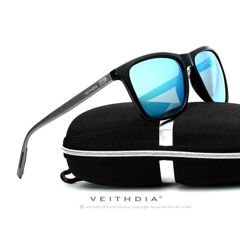 4 Colors Veithdia Luxury Mens Polarized UV400 Sunglasses Driving Glasses Eyewear HD