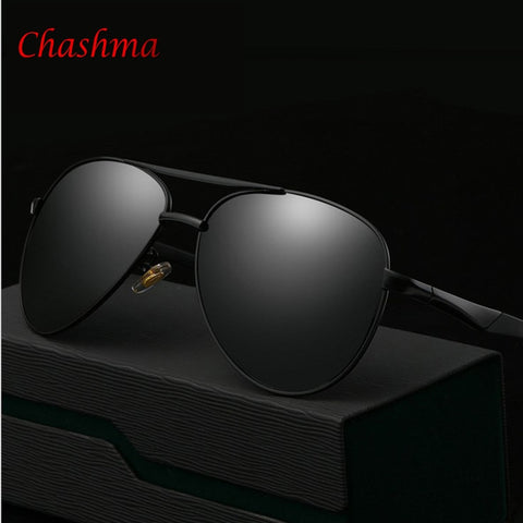 2017 hot sale Men High Quality Polarized Brand Driving Sunglasses sun glasses UV 400 Fashion Eye Wear with Box FREE SHIP