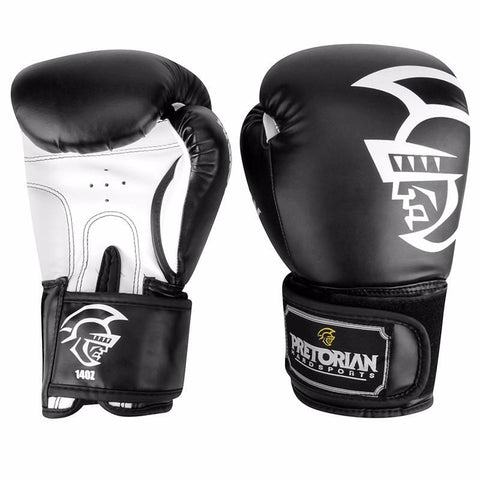 10OZ 12OZ 14OZ 16OZ Brand PRETORIAN Muay Thai Pair Boxing Punching Gloves TKD MMA Men Fighting Boxing Gloves PU Kick Gloves