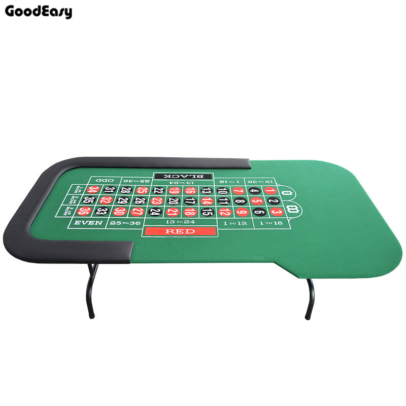 Roulette Table Casino Foldable Table Texas Hold'em Poker Indoor Board Game Chip Accessory Factory Price