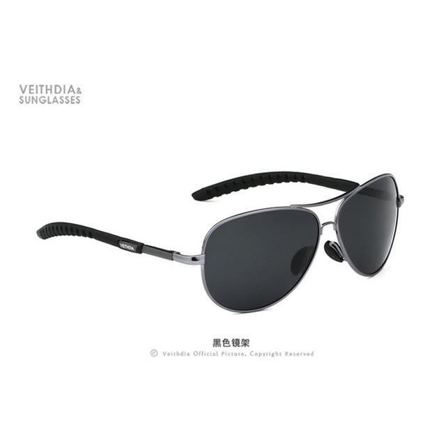 Men Polarized Sunglasses Anti-UV Driving Goggle Eyewear Sun Glasses Oculos De Sol VEITHDIA Brand Designer