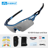 INBIKE Polarized Outdoor Sport Sunglasses Bicycle Glasses Women Men MTB Bike Sun Glasses Driving Cycling Eyewear 5 Lens Goggles