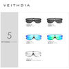 VEITHDIA Brand Fashion Retro Aluminum Sunglasses Polarized Integrate Lens Vintage Eyewear Accessories Sun Glasses For Men V6881