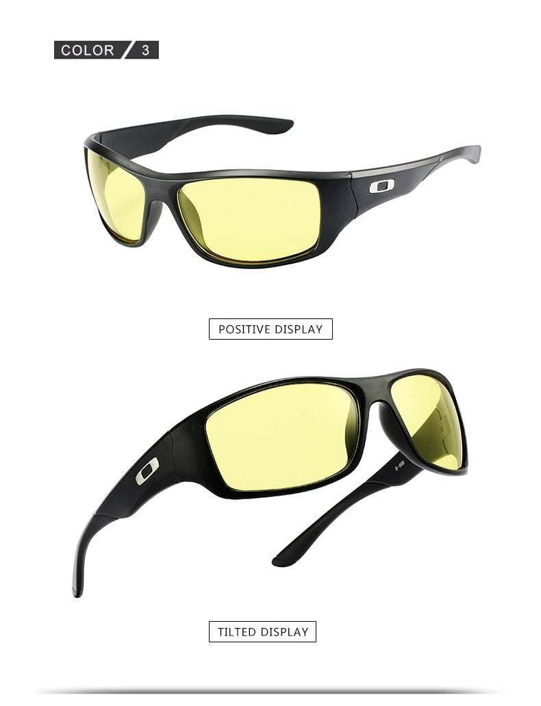2019 Outdoor Sunglasses Men's Fashion Driving Mountain Climbing Anti-glare Glasses Wild Fishing High Quality Sunglasses UV400