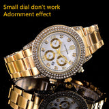 luxury brand ladies watches square Full diamond gold watch rhinestone women swiss Designer wristwatches bracelet clock