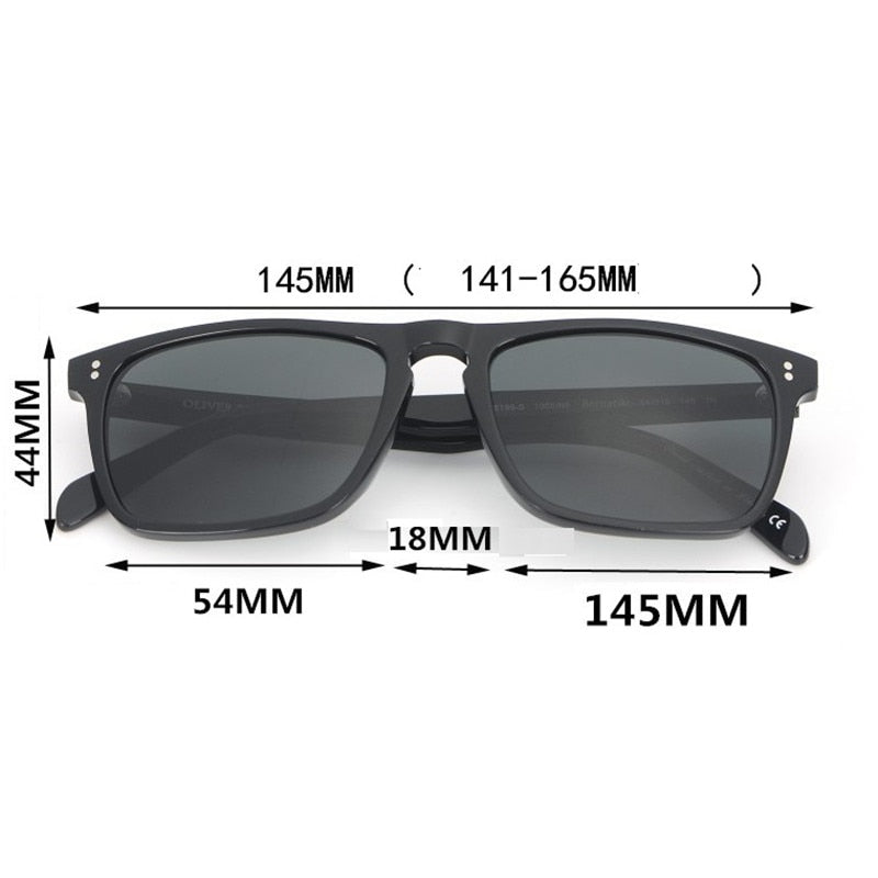 Cubojue Glass Mens Sunglasses Polarized Women Famous Brands Acetate Sun Glasses for Man Driving 141-165mm Wide Male Tortoise