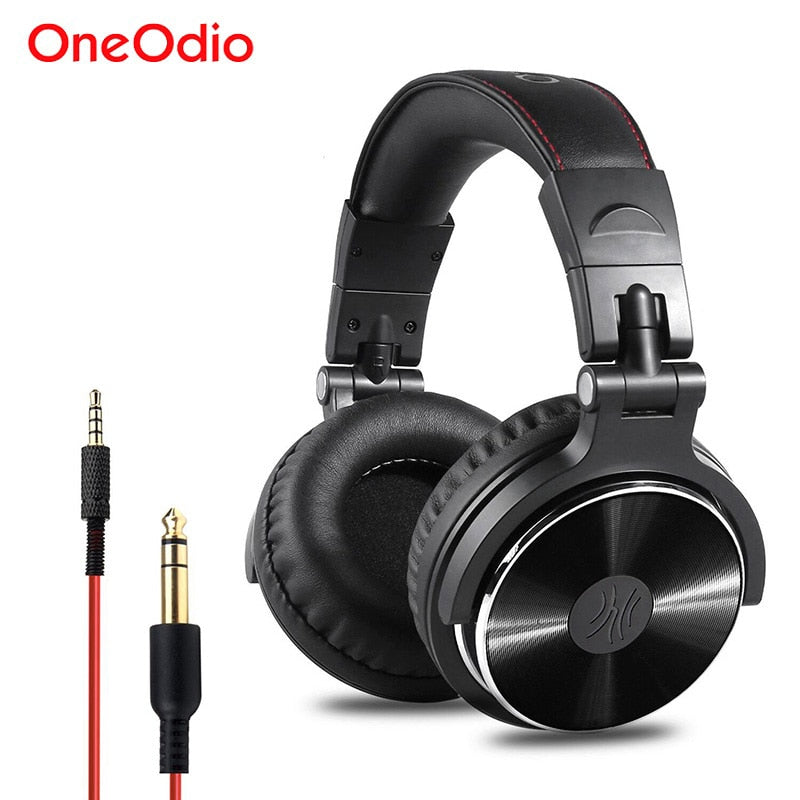 Oneodio Recording Monitor Headphones Hifi Professional Studio DJ Headphone Bass Stereo Headset For Xiaomi iPhone With Microphone