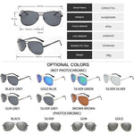 Pilot Sunglasses Men Brand Designer Sun Glasses Women Polarized Driving Glasses Men Photochromic Pilot Polarized Sunglsses UV400