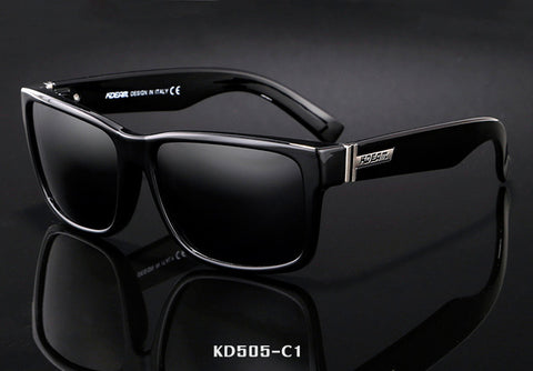 KDEAM Revamp Of Sport Men Sunglasses Polarized Shockingly Colors Sun Glasses Outdoor Driving Photochromic Sunglass With Box