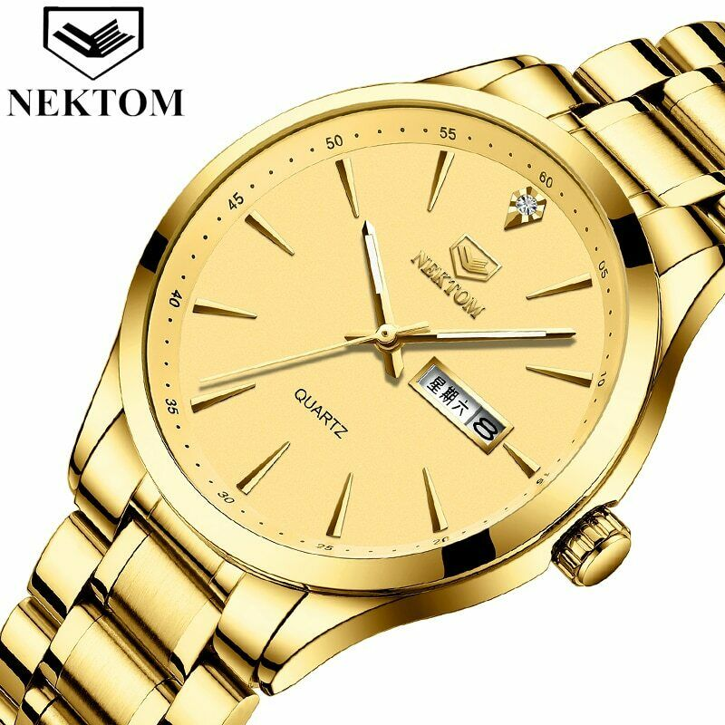 NEKTOM Top Brand Luxury 2020 New Watches Chronograph Sport Mens Watches