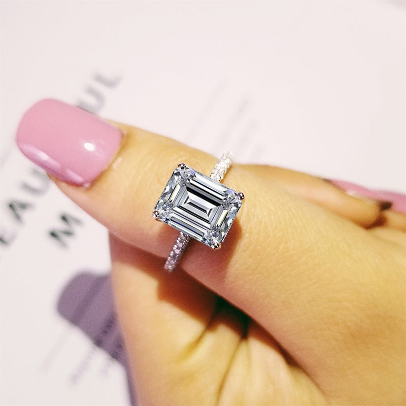Geometric Crystal Ring