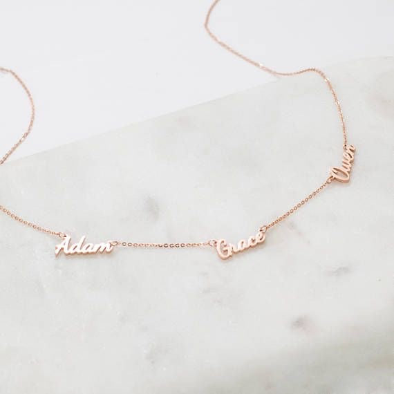 Bunch of Love Custom DIY Name Necklace