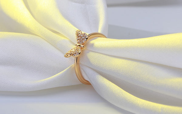 Touch of Glam butterfly Ring