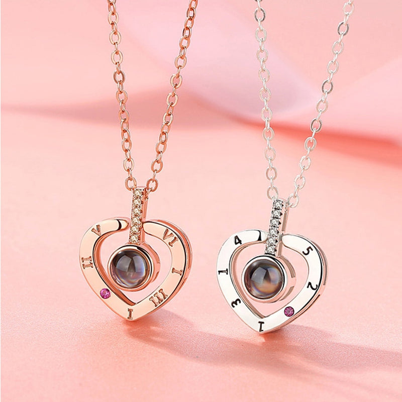 """I love you"" Heart Necklace"