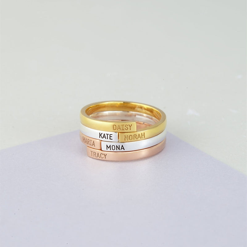 Always By Your Side Custom Ring