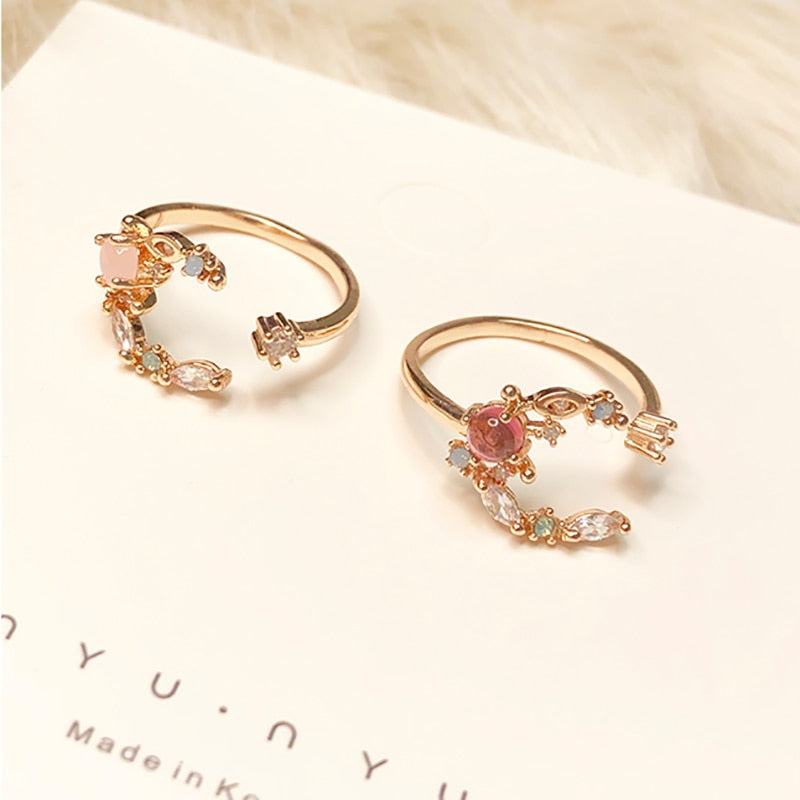 Flirty Color Ring Band