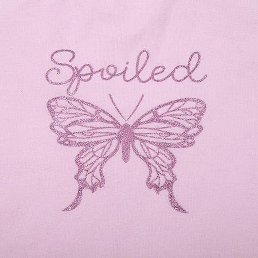 Spoiled Butterfly Pink Tee