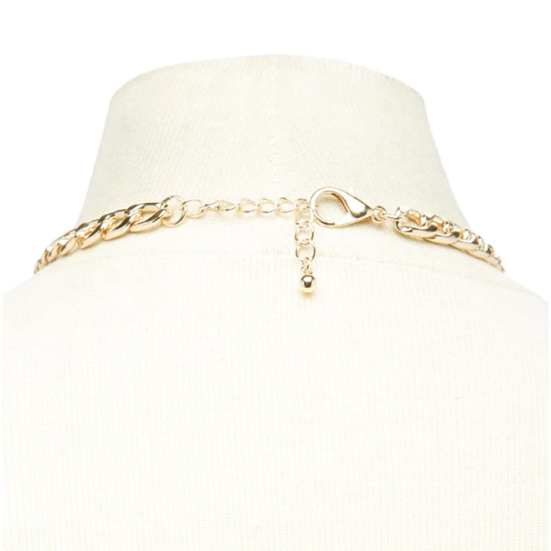 Simple Gold Link Choker