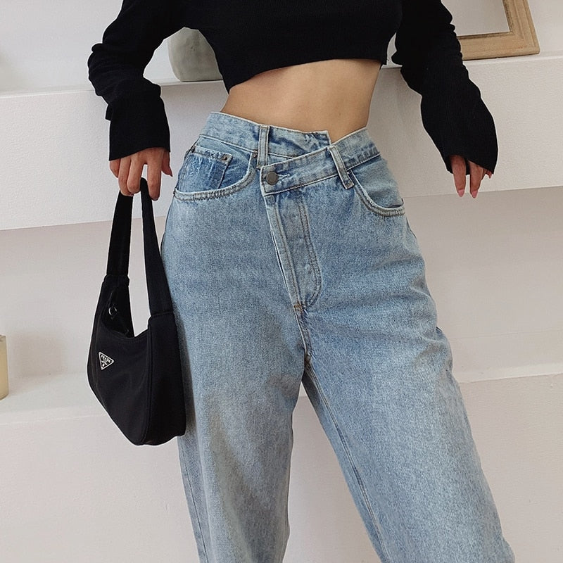 90s Casual Loose Fit Jean