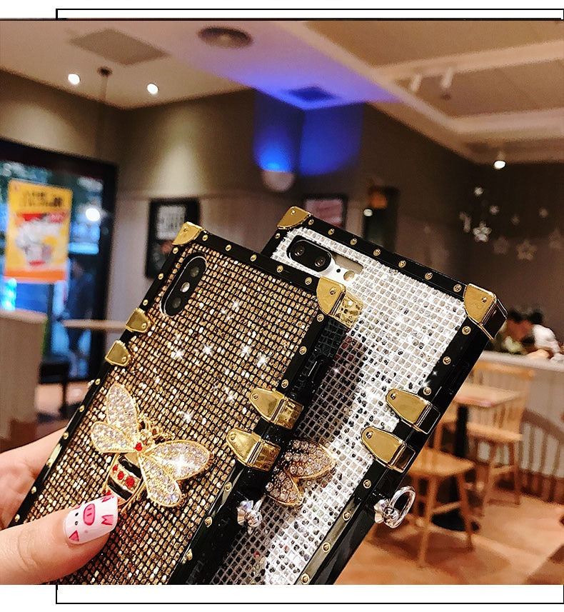 Boxy Bling Dragonfly Phone Case