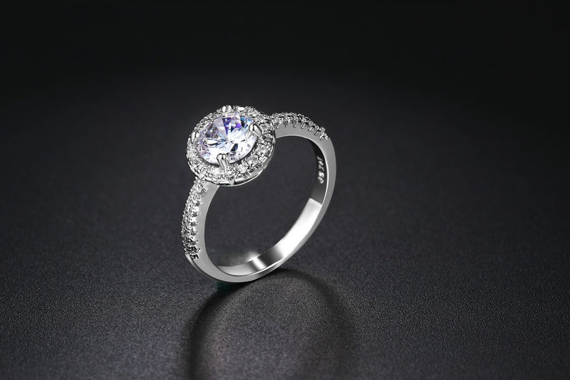 Classy Fall in Love Ring
