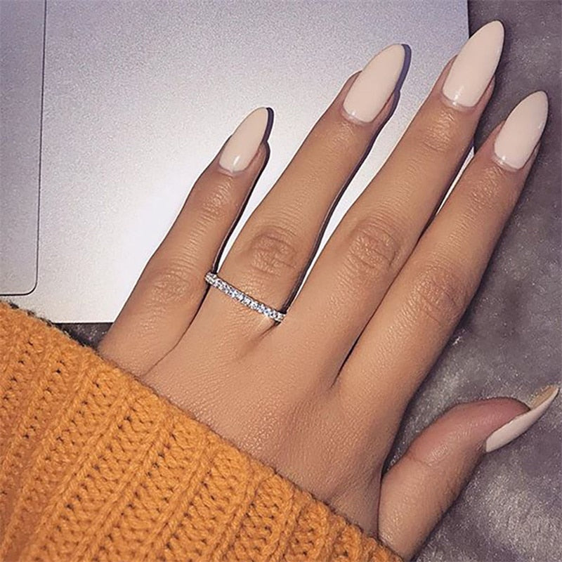Crystal Promise Ring