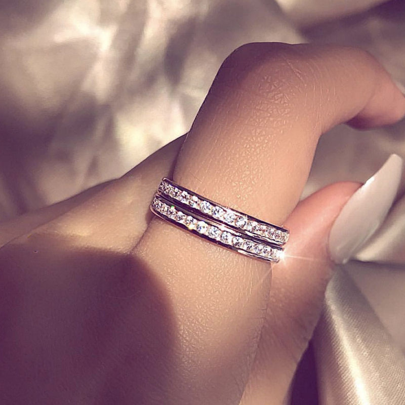 Be Mine Crystal Promise Ring