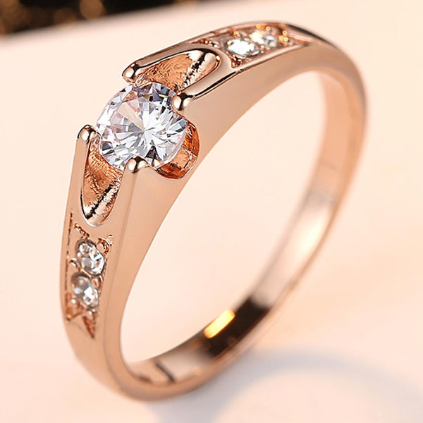 Rose Gold Paradise Ring