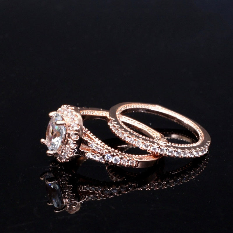 Oval Rose Gold Dream Engagement Ring