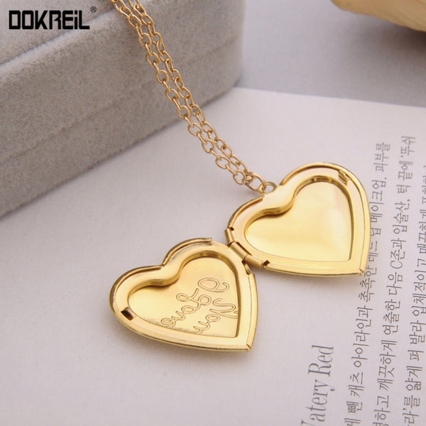 """I Love You"" Heart Locket"