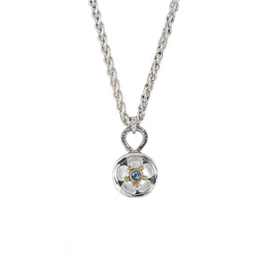 Chloe_Leigh_Designs_Beacon_Of_Hope_Necklace_Silver_18K_Yellow_Gold_Montana_Sapphire