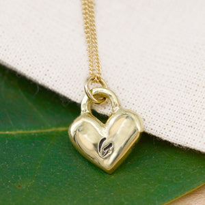 Forever Love Necklace w/ Monogrammed Initials
