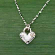 Load image into Gallery viewer, Forever Love Necklace w/ Diamond
