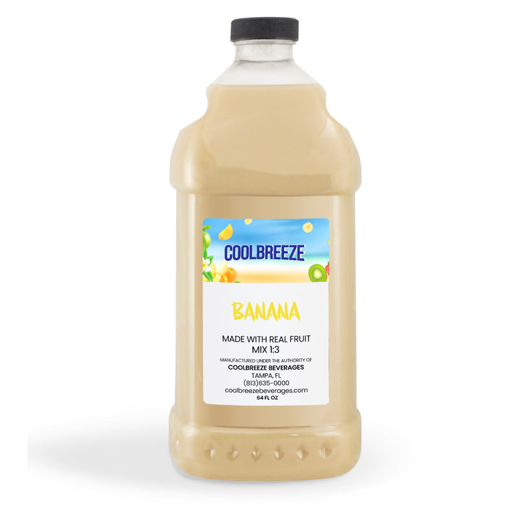 CoolBreeze Frozen Drink Flavor Syrups - Banana
