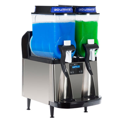 Bunn Ultra-2 HP BLK/SST with LED Toppers, Frozen Drink Machine