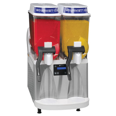 Bunn Ultra-2 HP WHT/SST with flat lids, Frozen Drink Machine