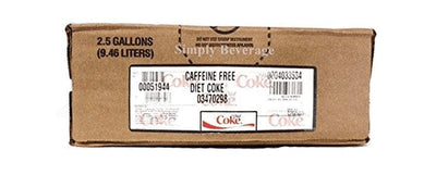Caffeine Free Diet Coke 2.5 Gal BIB Soda Fountain Concentrate Syrup