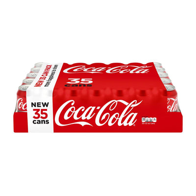 Coke, 35 Pack Cans