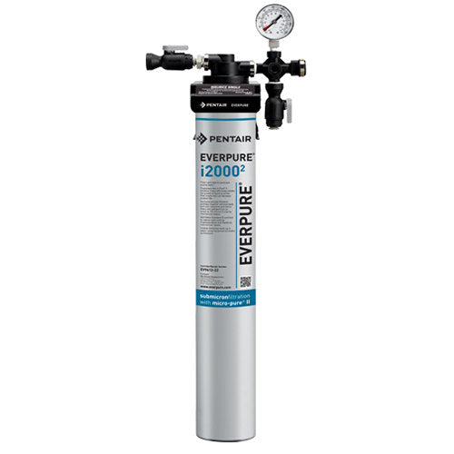 Everpure EV9324-01 Insurice Single i20002 Water Filtration System - .5 Micron and 1.67 GPM