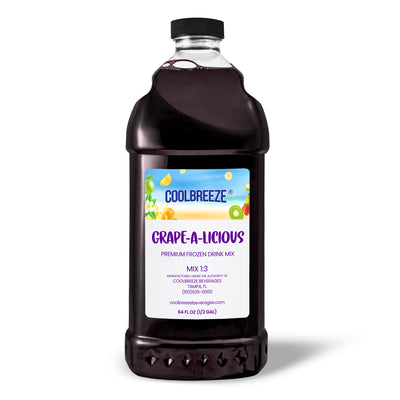 CoolBreeze Frozen Drink Flavor Syrups - Grape